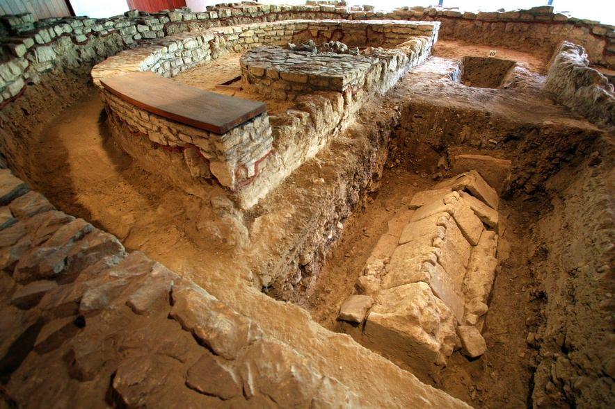 A XIII. számú sírkápolna