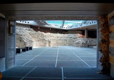A Cella Septichora bejárata