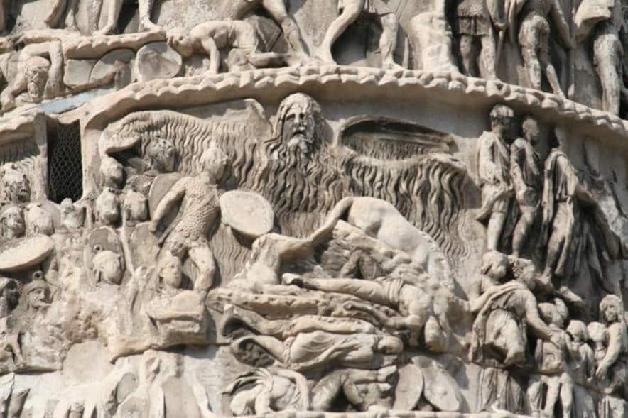 Az esőcsoda Marcus Aurelius oszlopán