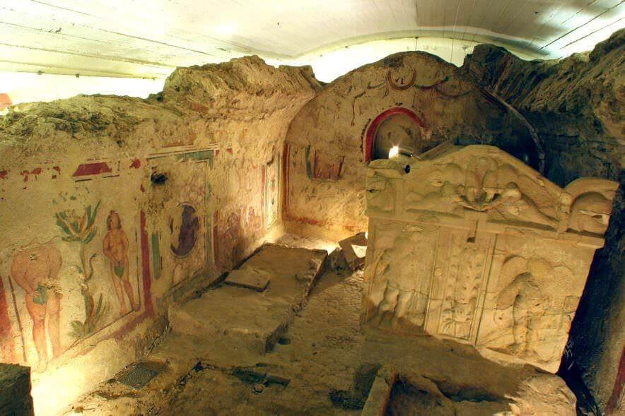 Az Ókeresztény Mauzóleum kriptája