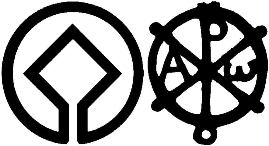 Vilagorokseg logo és krisztogram